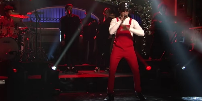 "Watch Chance the Rapper Perform ""Same Drugs,"" ""Finish Line/Drown"" on ""Saturday Night Live"""