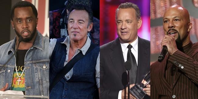 Puff Daddy, Bruce Springsteen, Tom Hanks, Common Set For Tribeca Film Festival