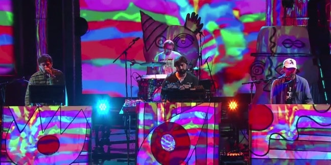 "Watch Animal Collective Perform ""FloriDada"" on ""Colbert"""