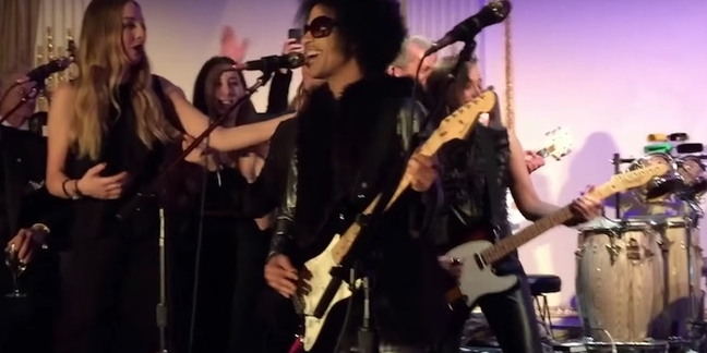"Prince Performs ""Let's Go Crazy"" With ""Saturday Night Live"" Alumni, Haim in Unearthed Footage: Watch"