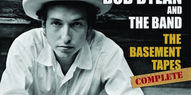 bob dylan announces the basement tapes complete the bootleg series