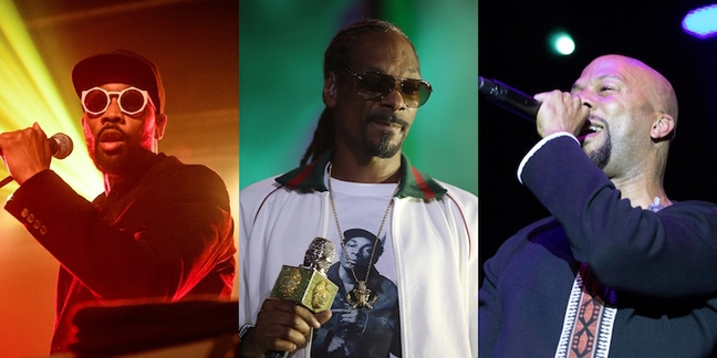 "RZA, Snoop Dogg, Common Set for ""Simpsons"" Hip-Hop Great Gatsby Episode"