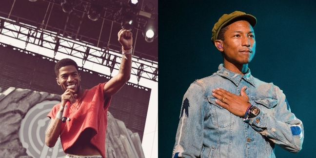 """Listen to Kid Cudi and Pharrell's New Song """"Surfin'"""""""