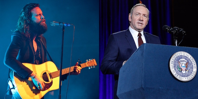 "Father John Misty Writes Lyrics to the ""House of Cards"" Theme"